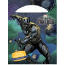 HANDY COLORING WITH STICKERS  - BLACK PANTHER