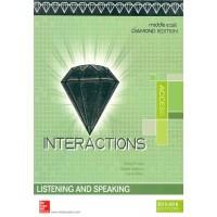 Interactions Access Listening/speaking Student Book Diamond Edition