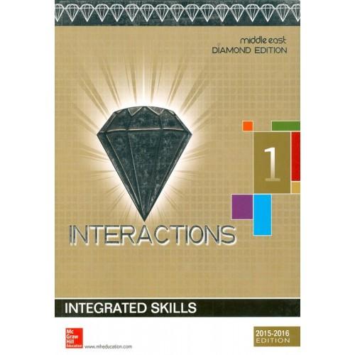 Interactions 1 Integrated Skills Student Book Diamond Edition الكتب الأجنبية