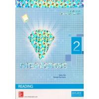 Interactions 2 Reading Student Book Diamond Edition