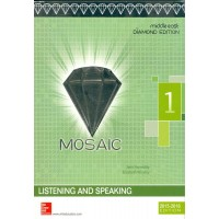 Mosaic 1 Listening/speaking Student Book Diamond Edition