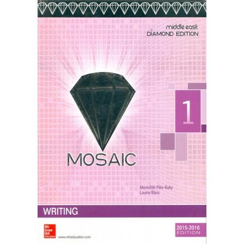 Mosaic 1 Writing Student Book Diamond Edition الكتب الأجنبية