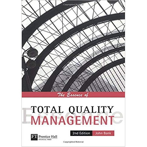 The Essence of Total Quality Management الكتب الأجنبية