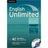 English Unlimited Elementary Self-study Pack (Workbook with DVD-ROM