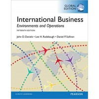International business, environment and operations. 14th ed