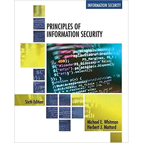 PRINCIPLES OF INFORMATION SECURITY الكتب الأجنبية