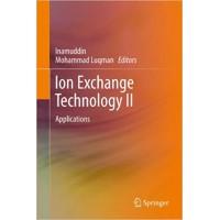 Ion Exchange Technology II: Applications